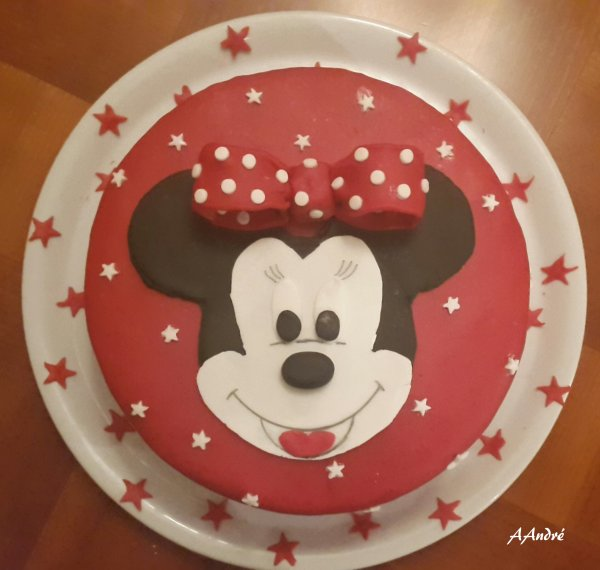 Patisserie - Gateau Minnie