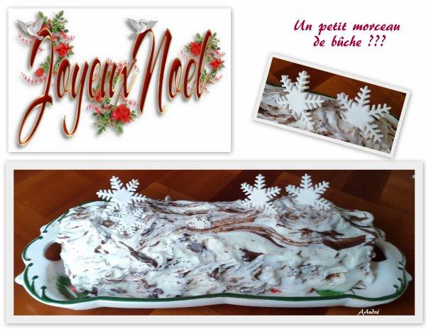 Pâtisserie - Ma bûche de Noël