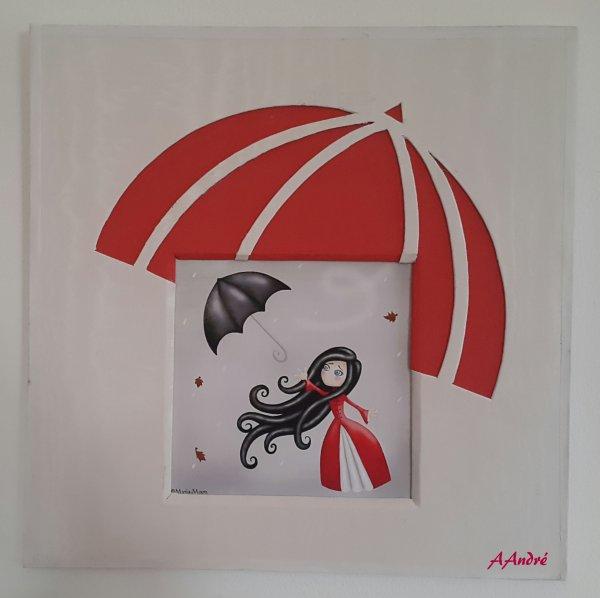 ENCADREMENT - Le Parapluie