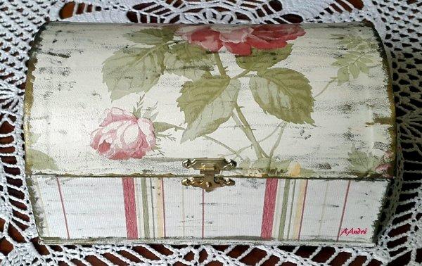 Cartonnage - Coffret vieilli