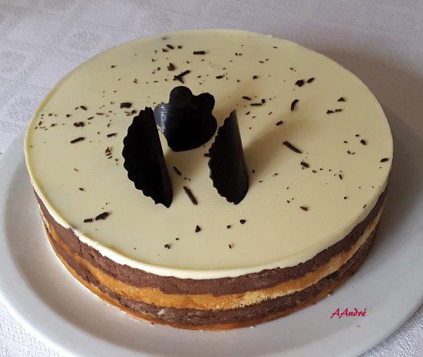 Patisserie - Bavarois au chocolat