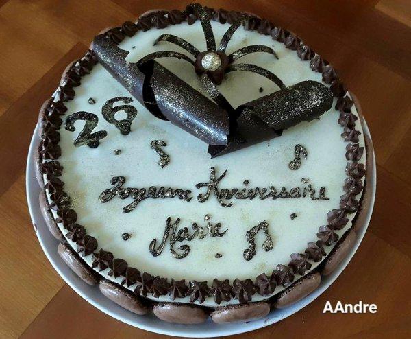 Patisserie - Succès aux 3 chocolats