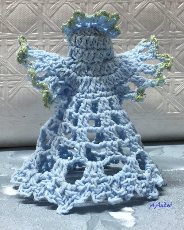 Noel - Anges au crochet