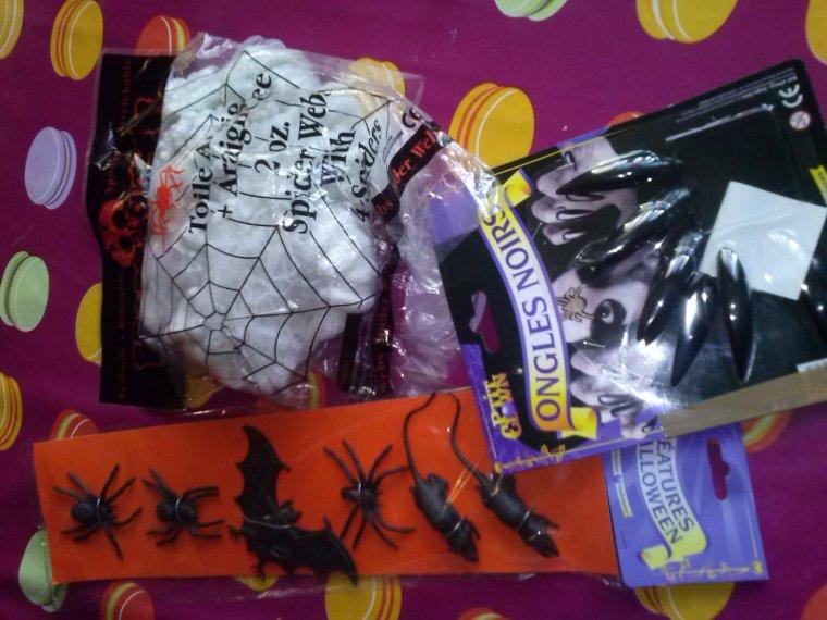 Colis Tic Tac Halloween ! Merci VGM !