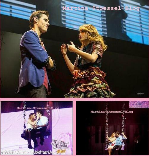 Le spectacle de Violetta au Grand-Rex à commencé hier