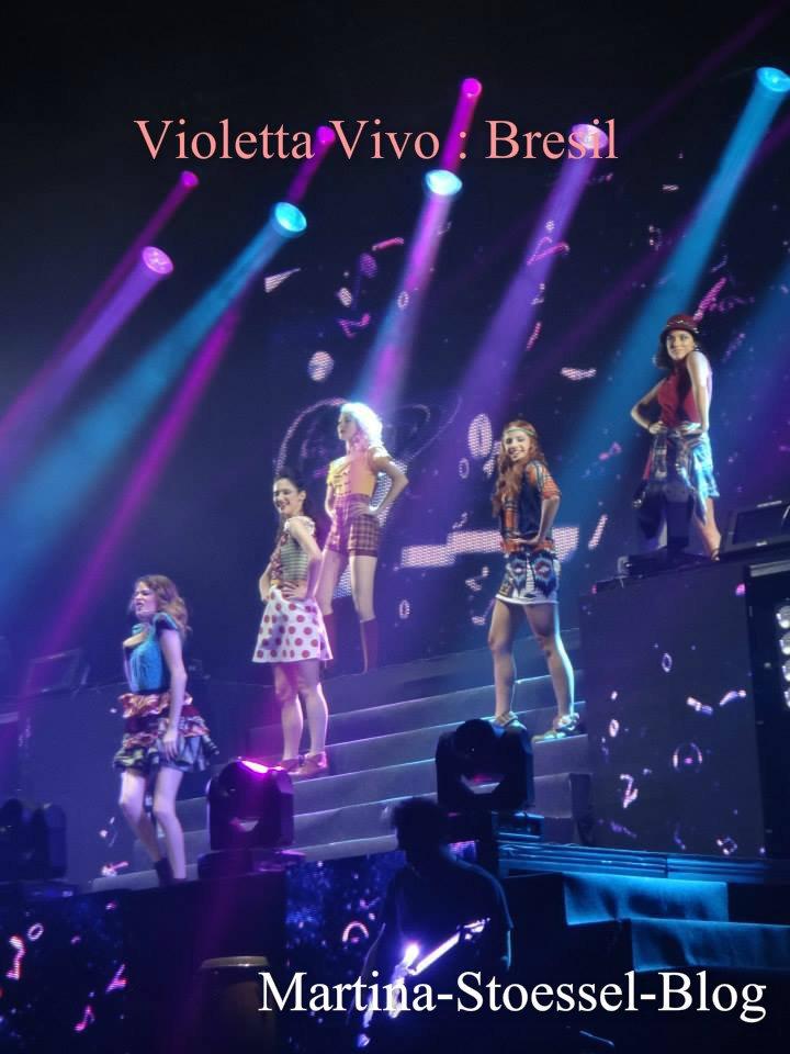 Violetta au Brésil