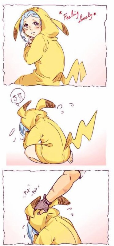 levy et gajeel une histoire de pikachu !!
