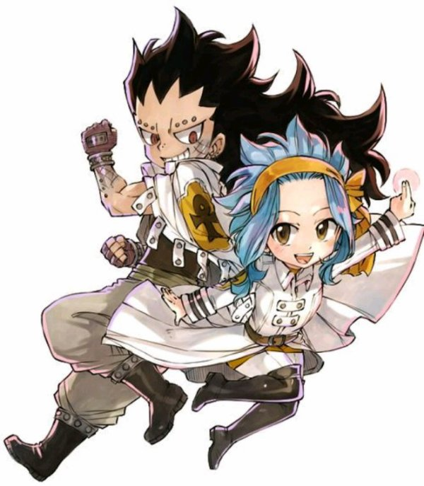 ♥️ Capitaine Gajeel ~ Miss Levy ♥️