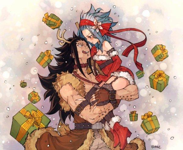 ~ Mademoiselle Noël et son reine ~ Les cadeaux, une jolie mère Noël et un reine très sexy ~