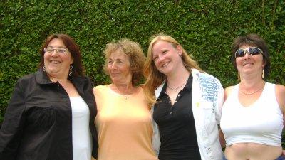 .. avec mes soeurs et ma maman...
