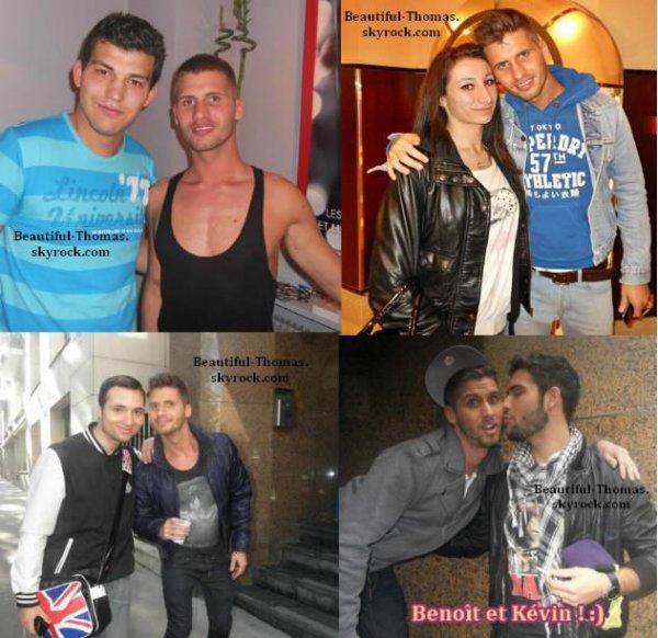 Photo personelle de Thomas sur Twitter + message + Découvrez les photos de Thomas et Benoît avec leurs fans