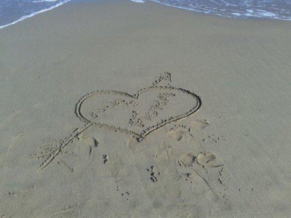je t'aime ma chérie