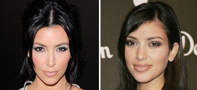 Kim Kardashian: photos Avant et Après