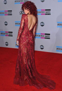 Rihanna au American Music Awards 2010