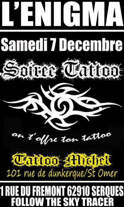 Soiree tatoo en partenaria avec tatoo michel