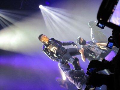 Concert Usher, tout simplement MAGIQUE ♥