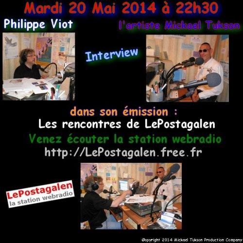 ♫  Interview Radio de l'artiste Mickael Tukson ♫