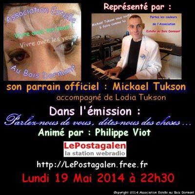 ♫ Mickael Tukson PARLE DE SON COMBAT AU COTE D'Estelle ♫