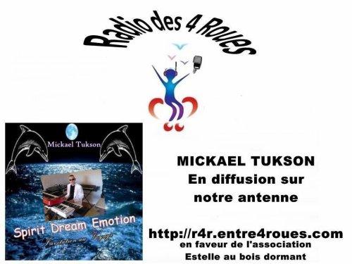 Mickael Tukson diffusé sur une nouvelle webradio : Radio des 4 Roues