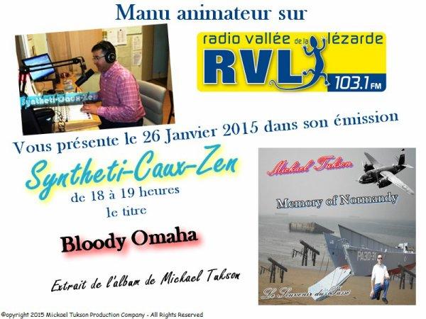 Bloody Omaha sur Radio Vallée de la Lézarde