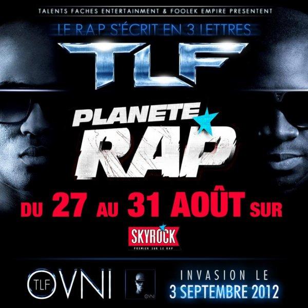Planete Rap Du 27 Au 31 AOUT