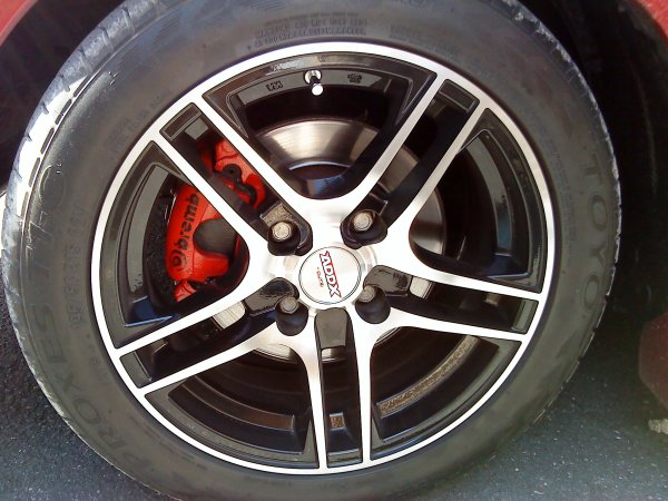 NOUVEAUX FREINS POUR LA 309 (freins de 206 s16)
