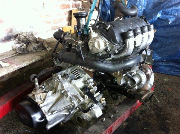 205 swap ( moteur xm 2.1 td12)