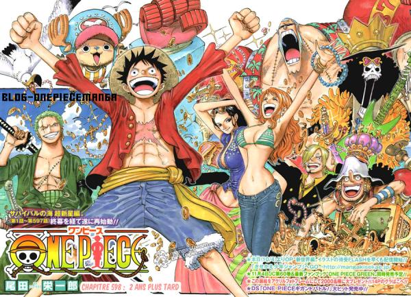 ~ Chapitre 598 : One Piece : deux ans après ~