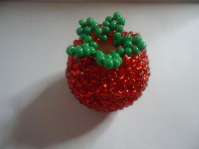 La petite fraise en perles