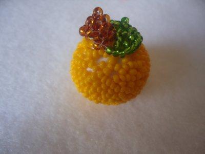 La petite pomme en perles