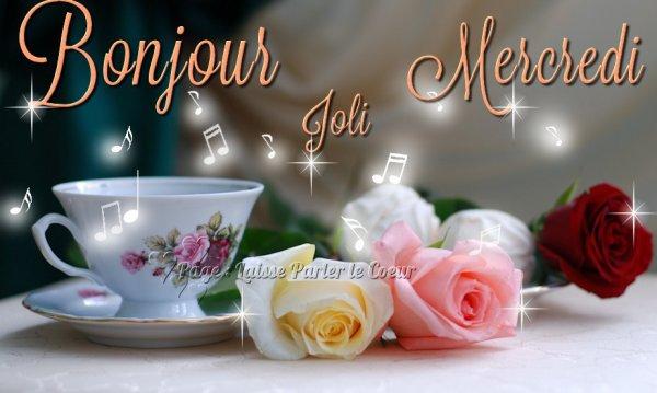 Bonjour Joli Mercredi