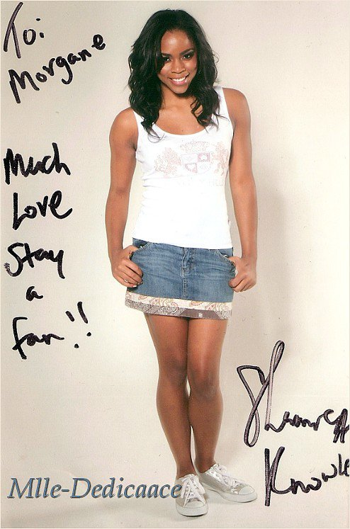 Shanica Knowles ( 02 ) Amber ( Hannah Montana )