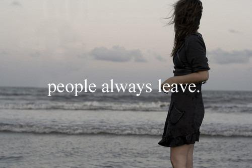 Peolple Always Leave †