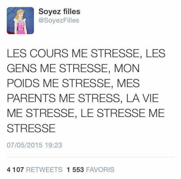 le stresse
