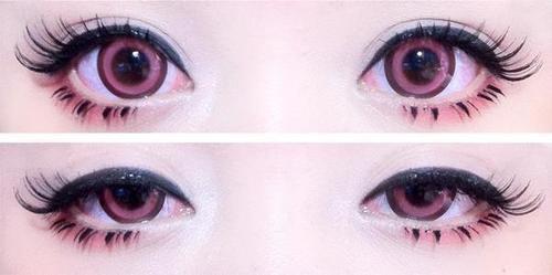 Dans mes yeux!