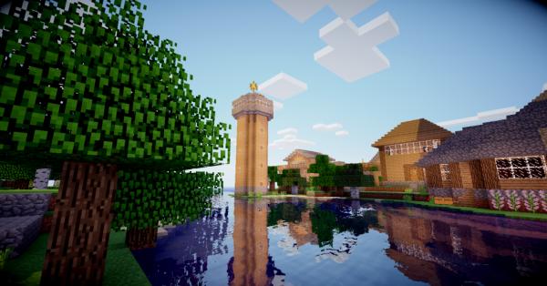 paysage minecraft