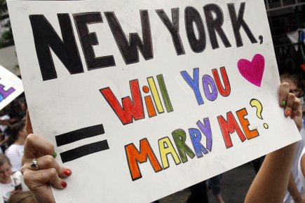 Mariage gay : le Sénat de New York dit oui