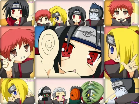 Akatsuki's world!!