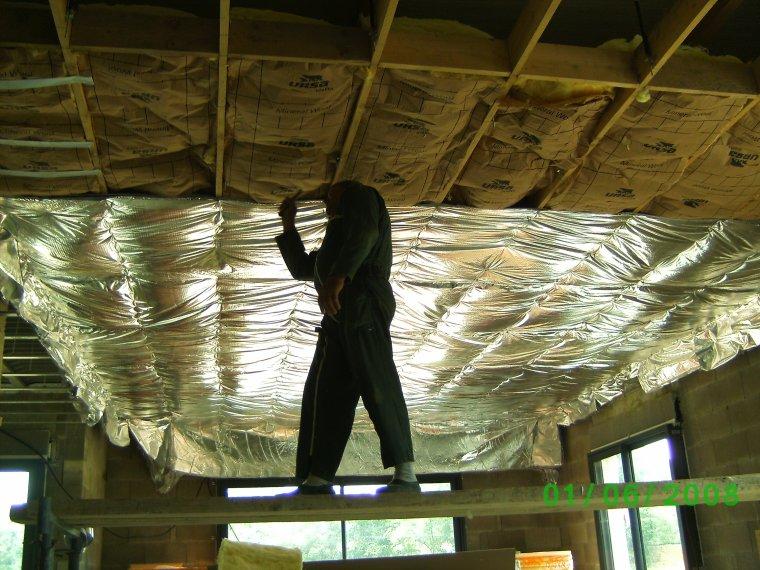lundi 10 juin 2013 laine de verre et isolant mince auto construction de notre maison. Black Bedroom Furniture Sets. Home Design Ideas