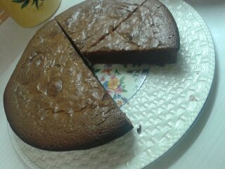 gâteau au chocolat (j adore celui ci )