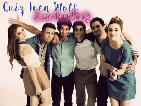 /!\ Quiz Teen Wolf /!\