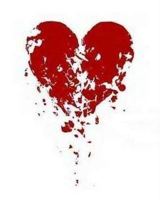 mopn coeur brisé  et oui trop bonne trop conne  pfffffffffffff
