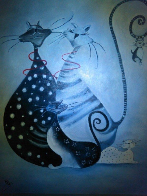 chat ch'est la famille!!!!!