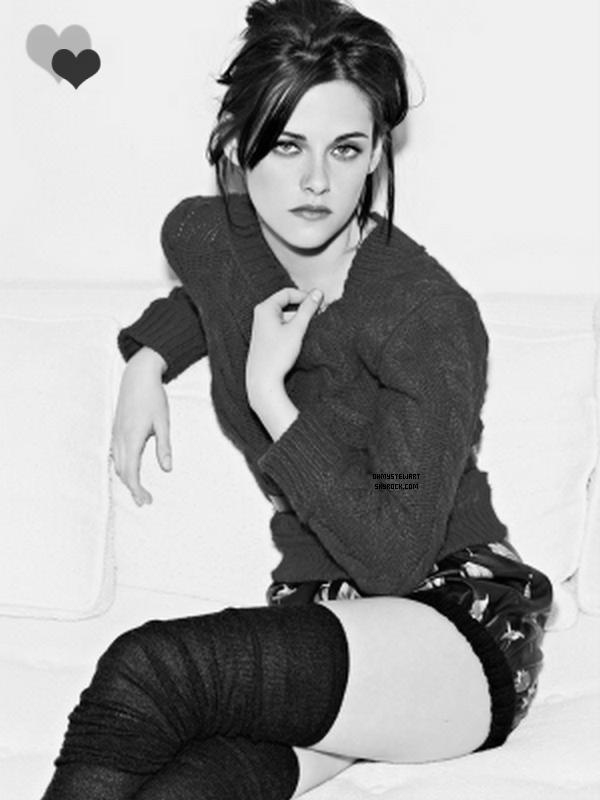 Photoshoot de Kristen pour Elle UK.  Les Photos Anciennes ! J'essaye de Cacher le Manquer de Nouveautées de Kristen ..