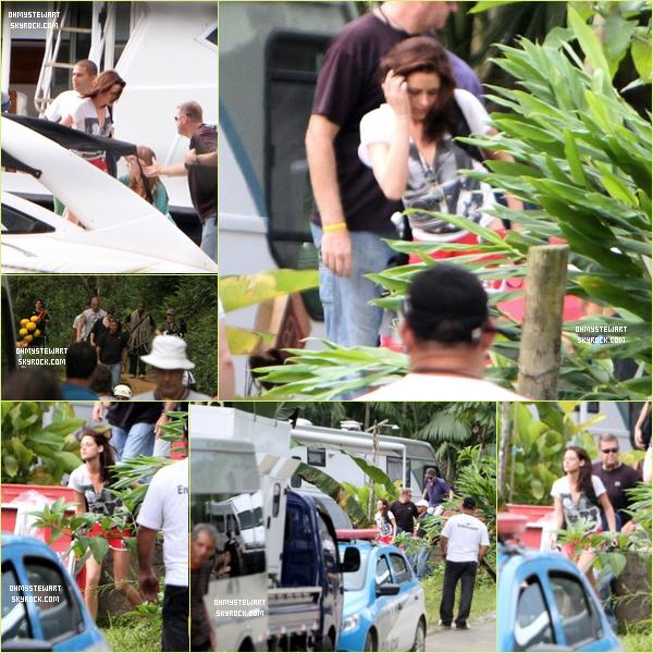 Catégorie ; Projets.  09/11 ♦ Kristen Stewart et Robert Pattinson ont poursuivis le tournage de « Breaking Dawn » au Brésil. ♥