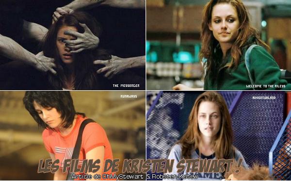 Kristen Stewart a Joué dans beaucoup de film.. Parmi c'est 4 là , Le quel Préfére tu ?