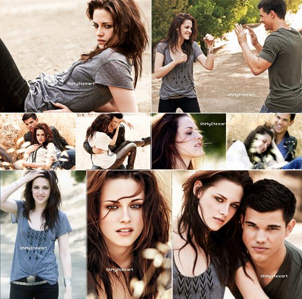 Flash Back : Regardons encore une fois ce merveilleux photoshoot de Kristen & Taylor. J'adore & vous ? ♥
