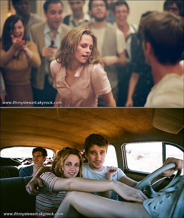"""● Stills : Voici les premiers stills de """" One the road """" de Kristen & Garett Hedlund. Perso, J'adore ! Surtout celui de Kris' & Garett ! Sa promet d'être super ! ;) ♥"""