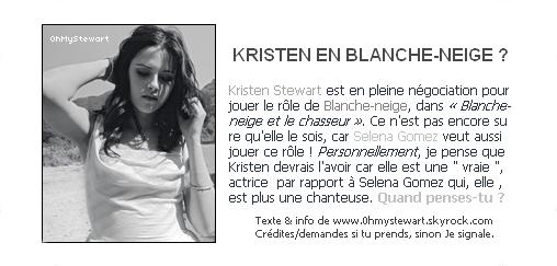 ● Rumeurs : Un nouveau film pour Kristen ? Ce sera bientôt confirmé.. !