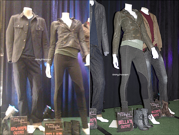 ● Costume : Découvrez les costumes de Bella, Edward & Jacob pour Breaking Dawn !